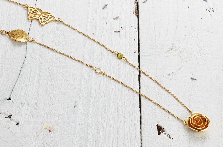 Woodland necklace image