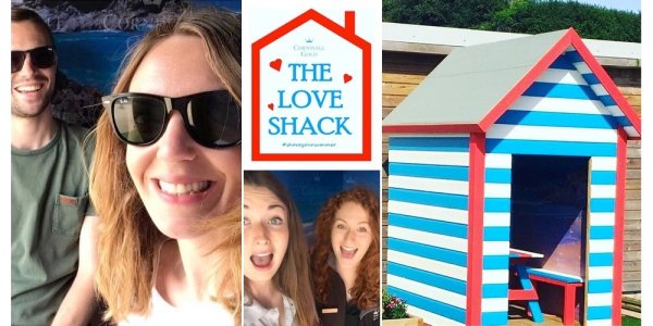 Love shack beach hut