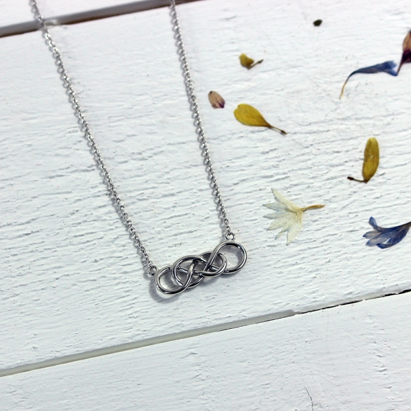 Demelza Chain Necklace - Silver