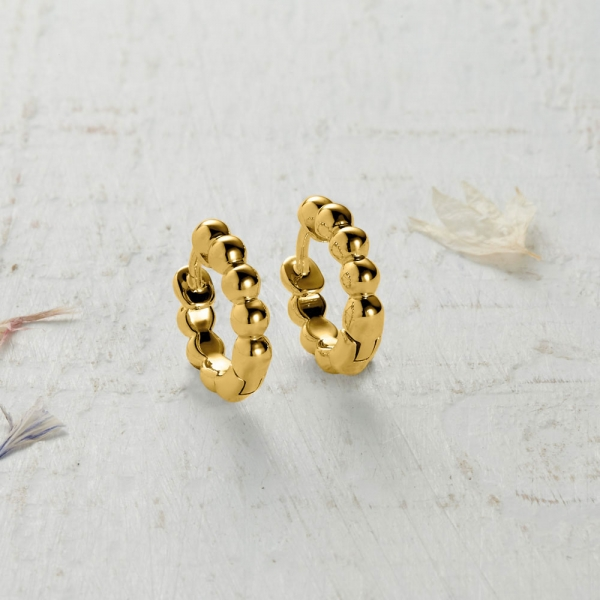 Newlyn Bobble Earrings - gold