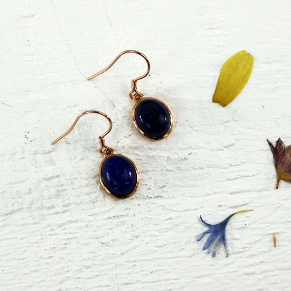 Kelester Drop Earrings - lapis lazuli
