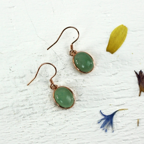 Kelester Drop Earrings - aventurine