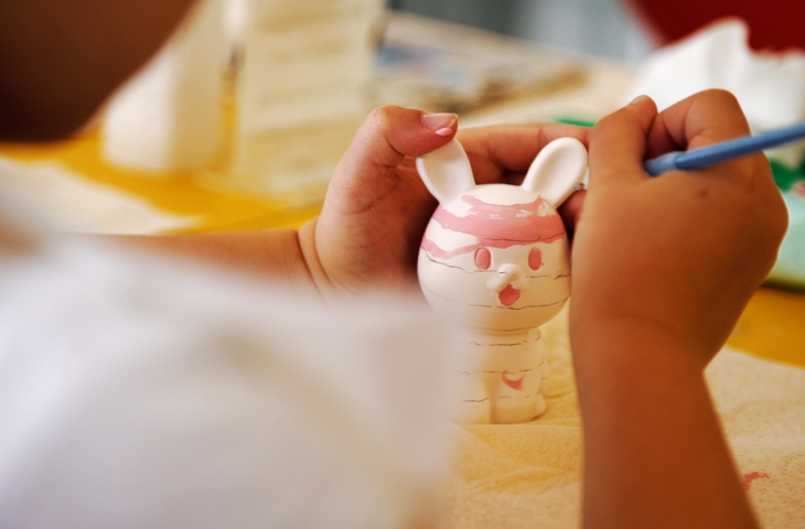 Paint your own pottery at Create & Paint